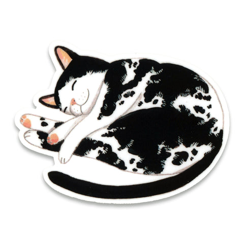 Cat Nap Sticker