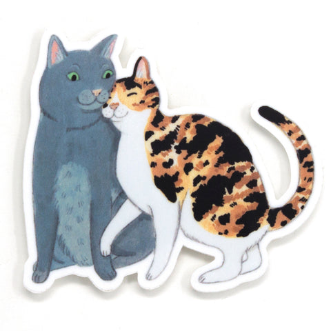 Cat Pair Sticker