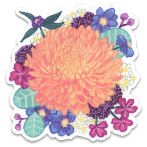 Chrysanthemum Sticker