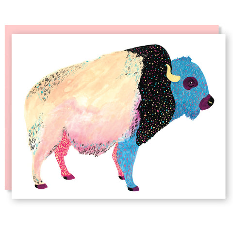 Cosmic Bison Card