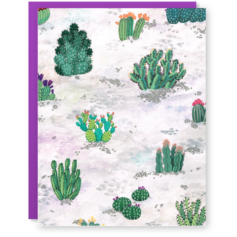 Desert Flowers Card