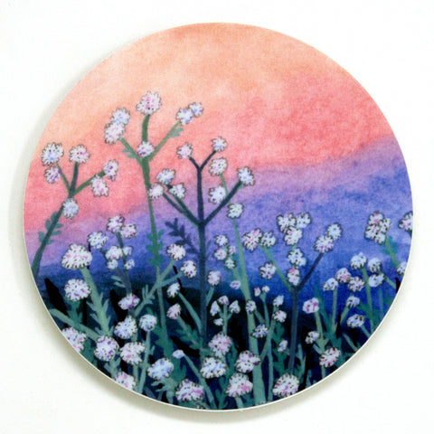 Fluffy Flower Sticker
