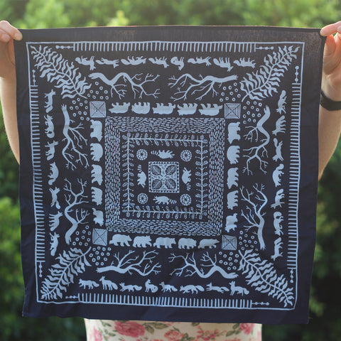 Blue Forest Bandana