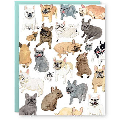 Frenchies Card