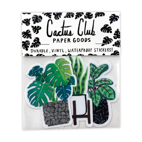 Houseplant Vol. 1 Sticker Pack (Wholesale)