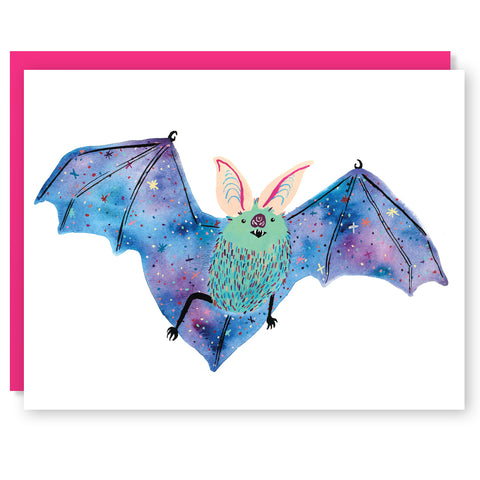 Interstellar Bat Card