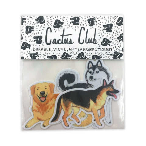 Large Dog Sticker Pack (Wholesale)