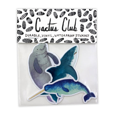 Marine Animal Sticker Pack (Wholesale)
