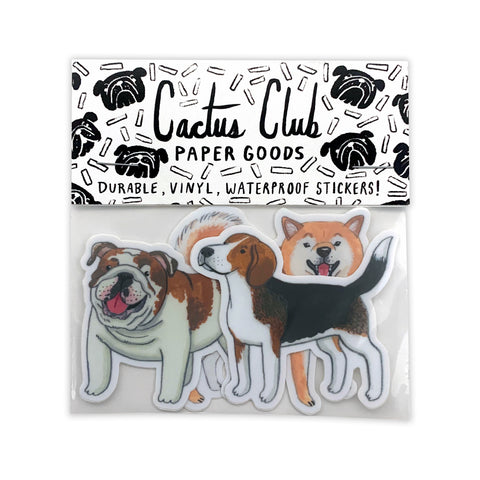 Medium Dog Sticker Pack