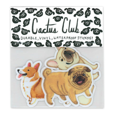 Small Dog Vol. 1 Sticker Pack (Wholesale)