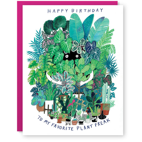 Plant Freak Card