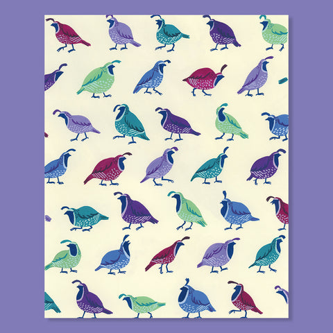 Quorum of Quails Print