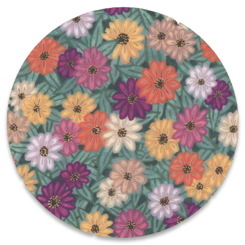 Retro Flowers Sticker