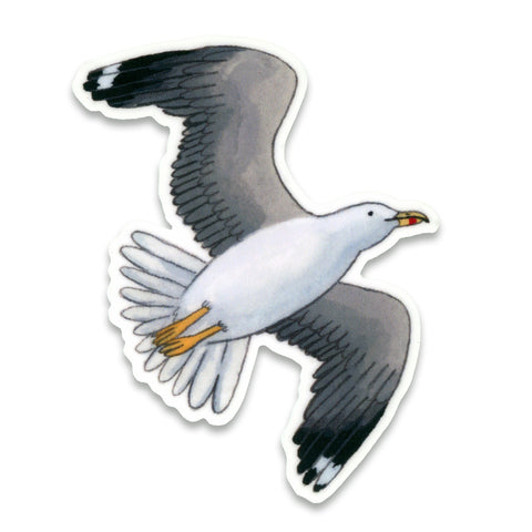 Seagull Sticker