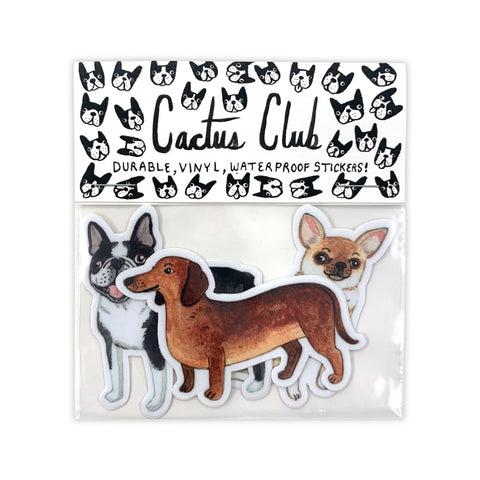 Small Dog Vol. 2 Sticker Pack (Wholesale)