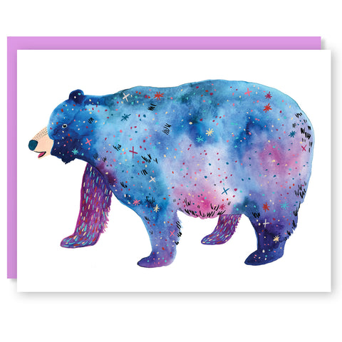 Space Bear Card