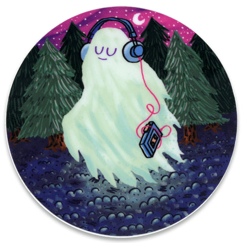Spirit Solitude Sticker