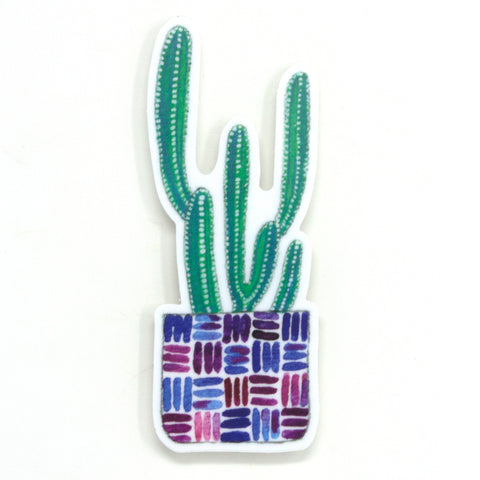 Tall Cactus Sticker
