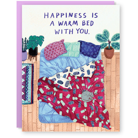 Warm Bed Card