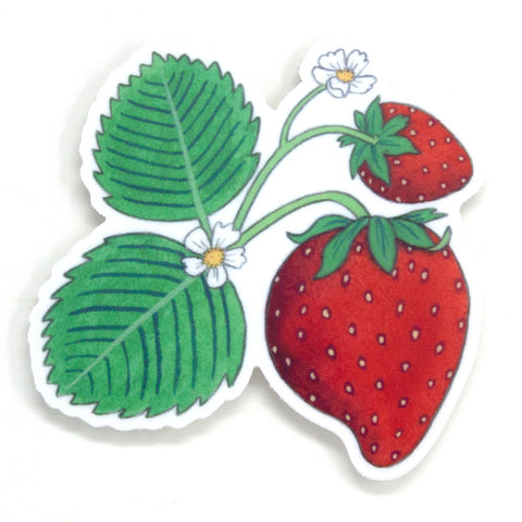 Wild Strawberry Sticker