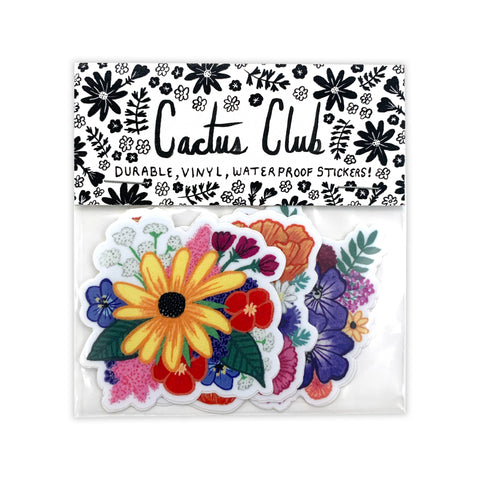 Wildflower Sticker Pack