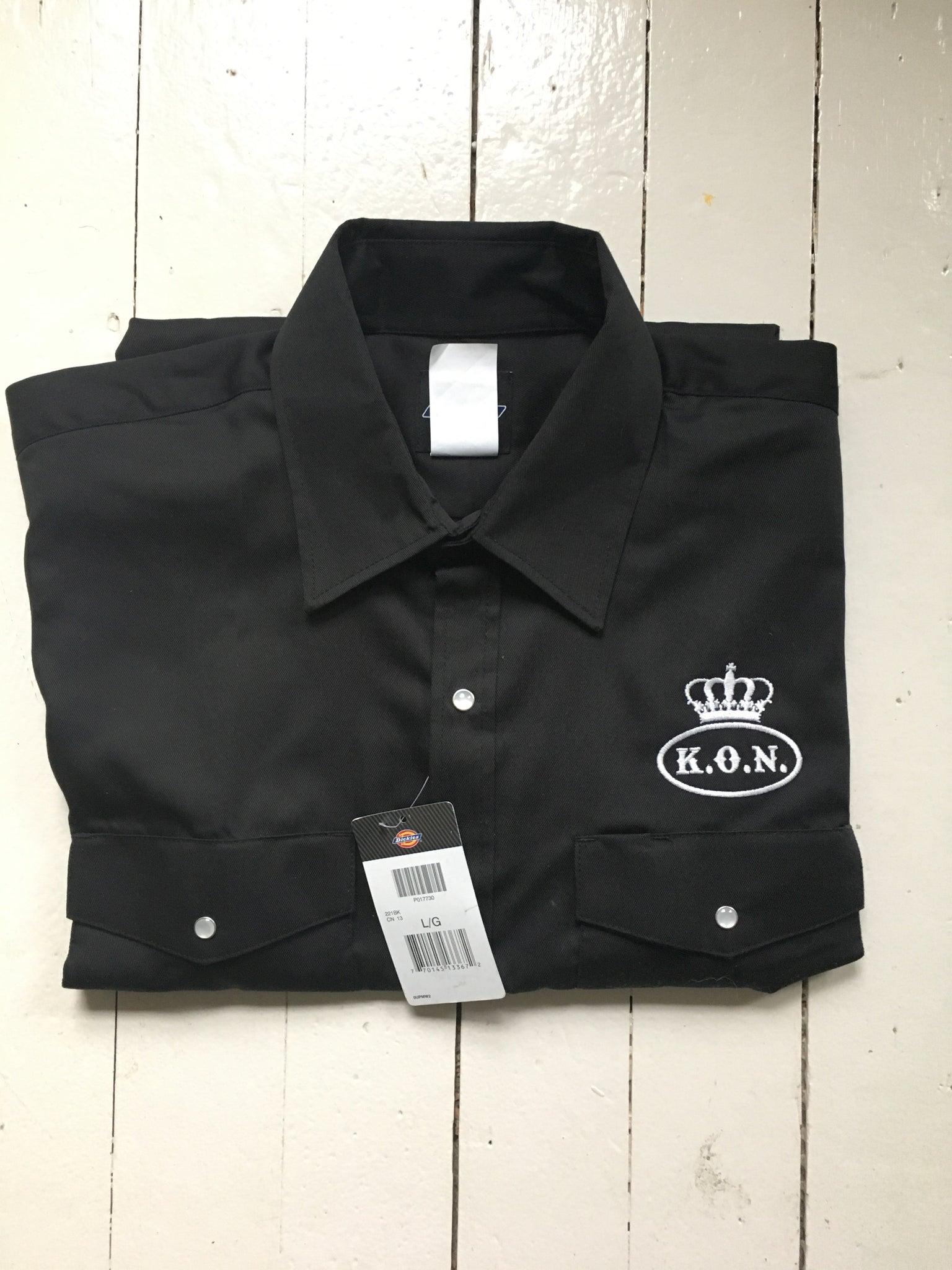King Chess Work Shirt