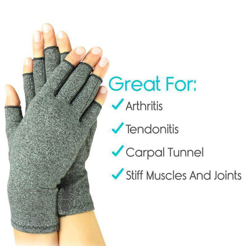 1 Pair Unisex Arthritis Compression Gloves