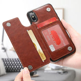 Fitted Cases - Premium PU Leather Case For IPhone