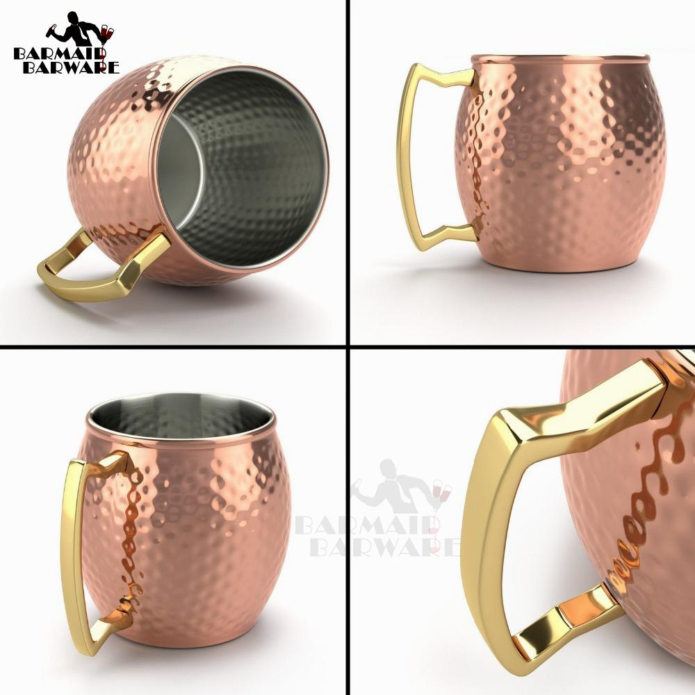 Mugs - VINTAGE COPPER PLATED MUG