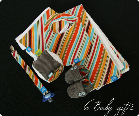 DIY Tutorial - New Baby Gift Set (Free Patterns)