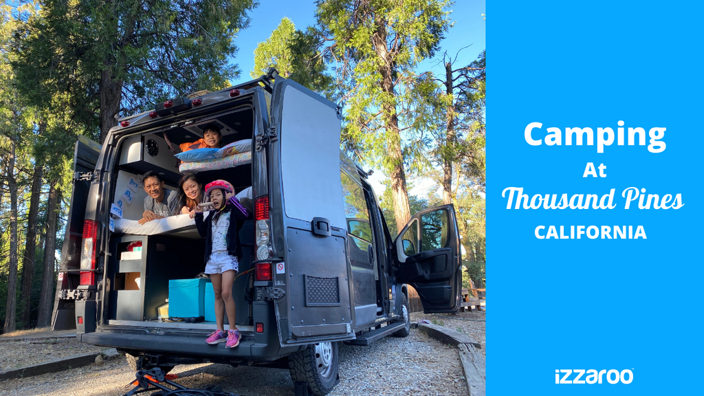 Family Campervan Adventure at Thousand Pines Campground