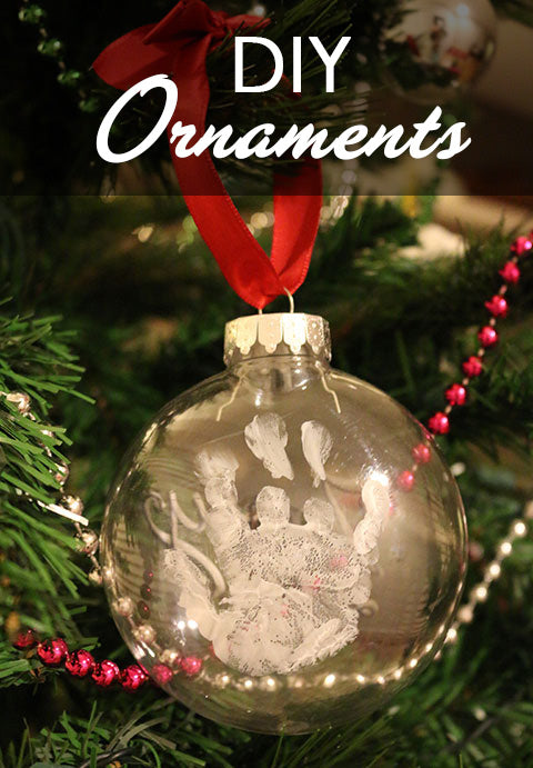 DIY Tutorial - Holiday Christmas Ornaments