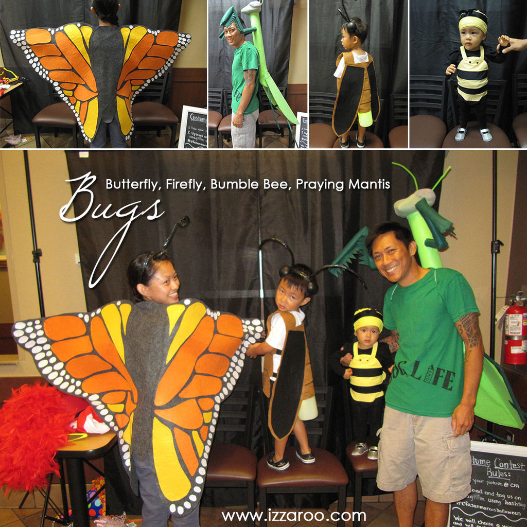 Halloween 2014 - DIY Insect/Bug Themed Family Halloween Costume Tutorials