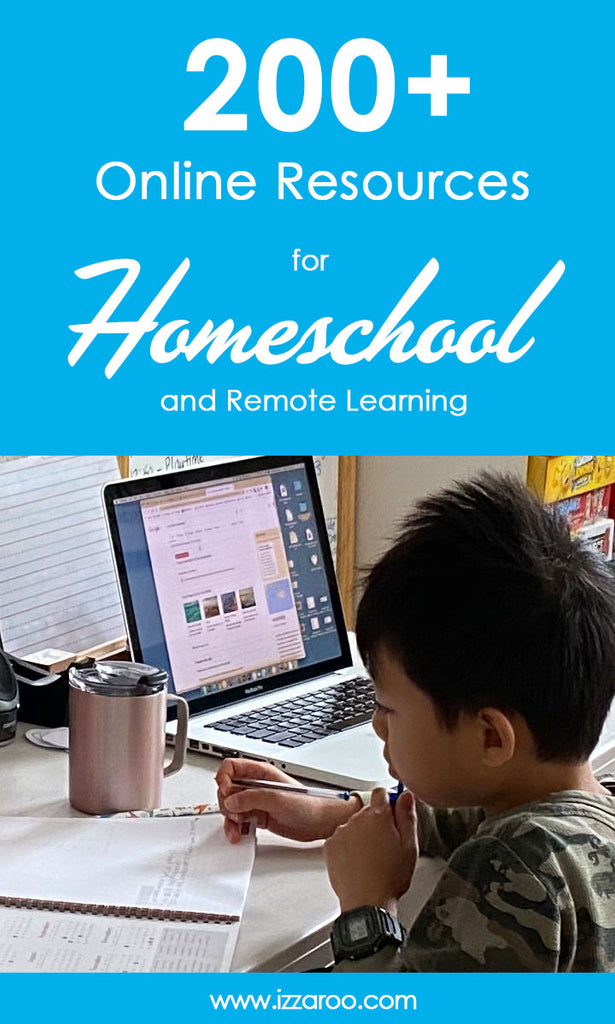 200+ Online Resources for Homeschool and Remote Learning (many are free)