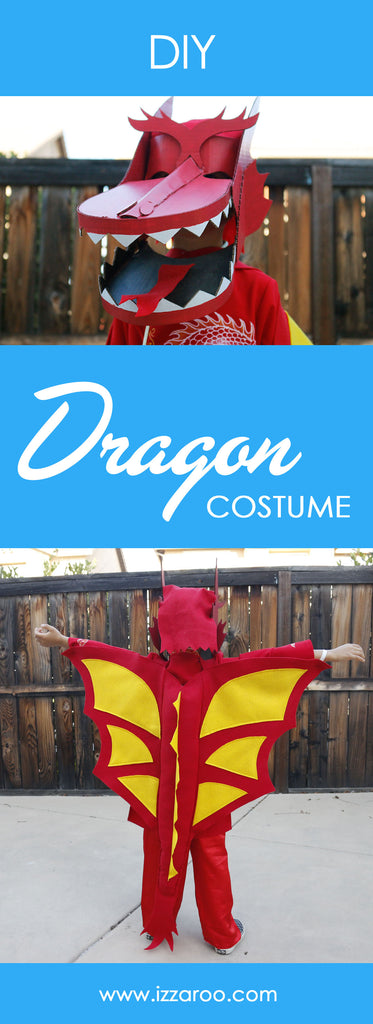 DIY Tutorial - How to Make a Dragon Halloween Costume