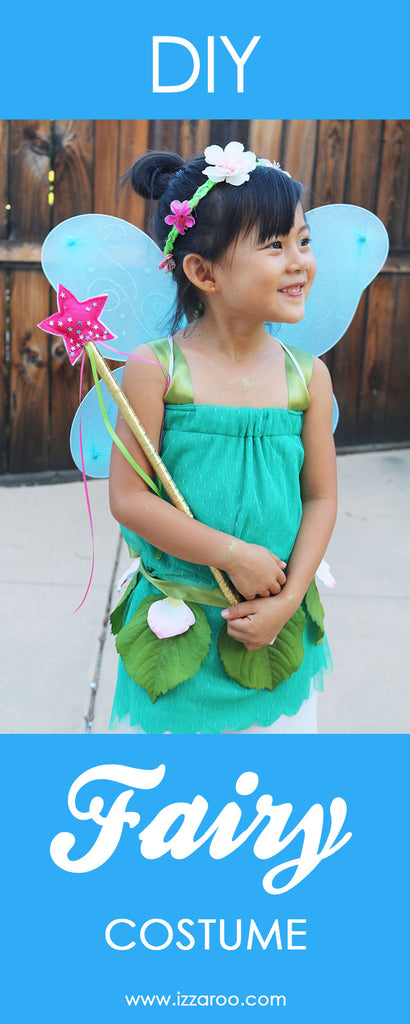 DIY Tutorial - How to Make a Fairy Halloween Costume