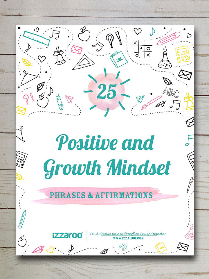 25 Positive & Growth Mindset Phrases & Affirmations