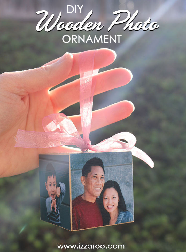 DIY Video Tutorial - Wooden Photo Ornament