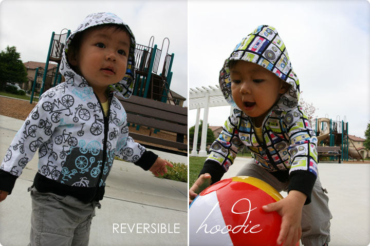 DIY Tutorial - How to Make a Kids' Reversible Hoodie