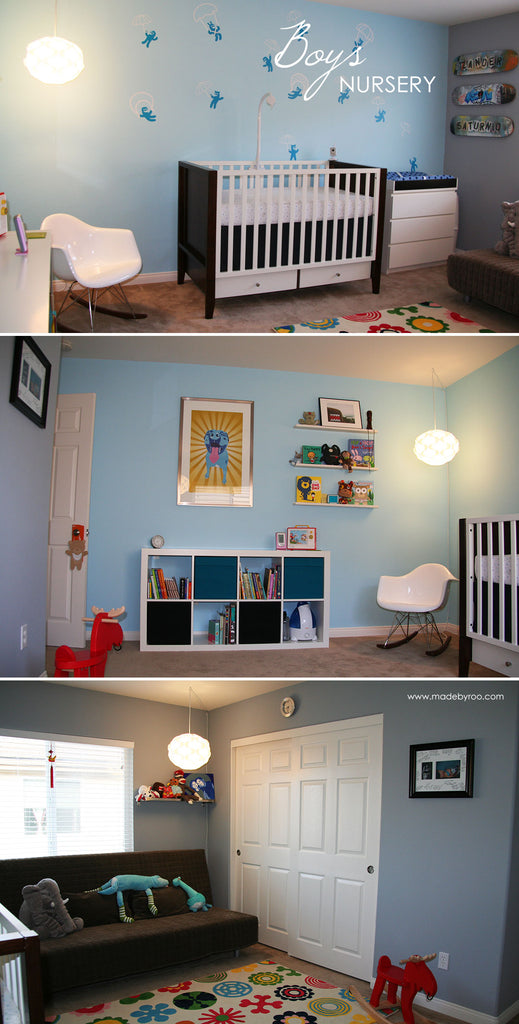 Baby Boy and Girl Nursery Room Decorating Ideas