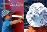 DIY Tutorial - How to Make a Kids' Reversible Bucket Hat