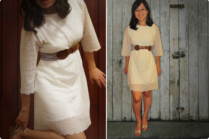 DIY Tutorial - Double Layer Lace Dress