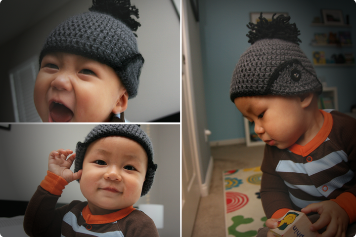 DIY Tutorial - Crochet Beanie with Ear Flaps (Free Pattern)