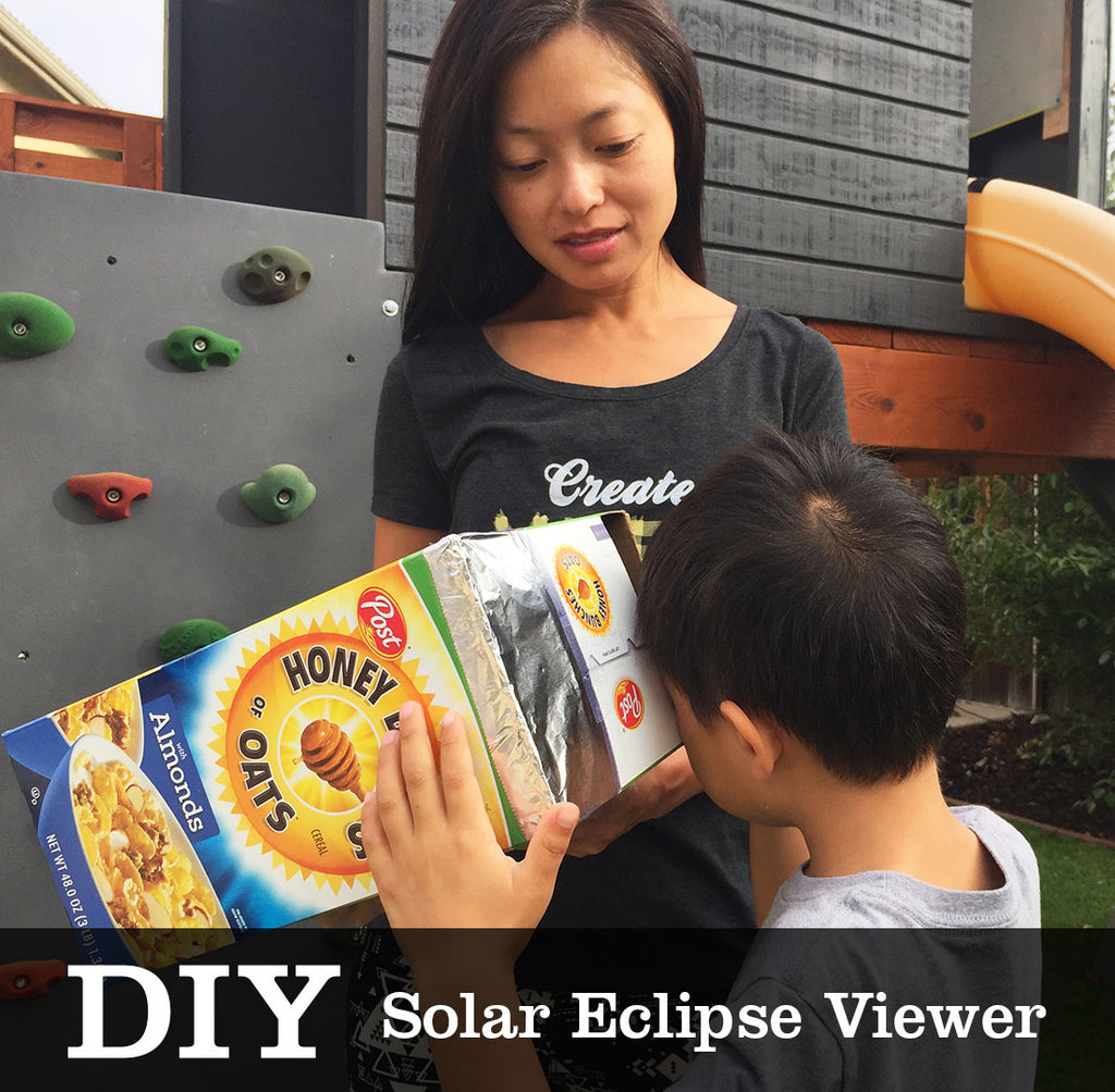 DIY Video Tutorial - Solar Eclipse Pin Hole Viewer
