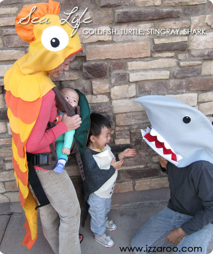 Halloween 2013 - DIY Tutorials - Sea Life Themed Family Halloween Costumes