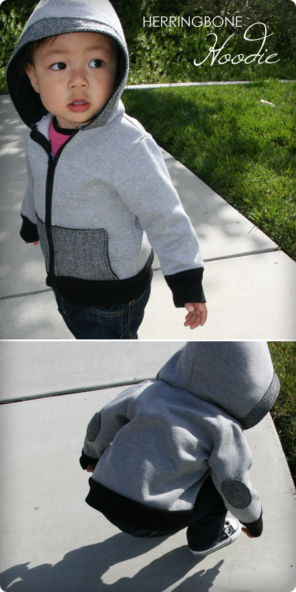 DIY Tutorial - How to Make a Kid's Zipper Hooded Jacket
