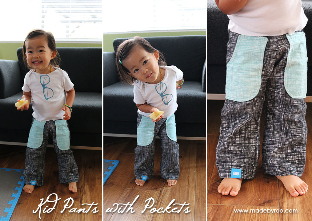 DIY Tutorial - Kids' Pants With Pockets
