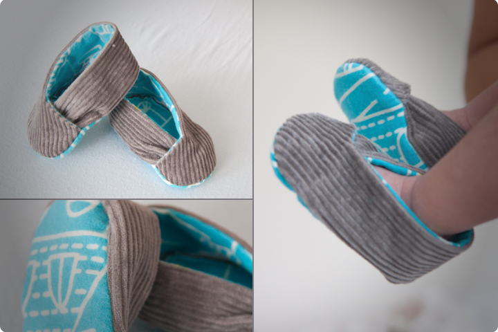 DIY Tutorial - Kimono Baby Shoes (Free Pattern)