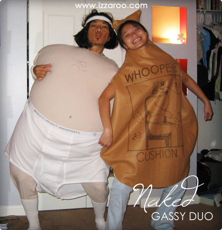 Halloween 2006 - DIY Tutorials - Gassy Duo Themed Halloween Costumes