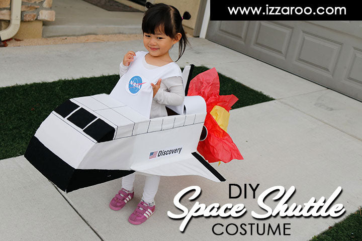 DIY Tutorial - Kids Space Shuttle Halloween Costume